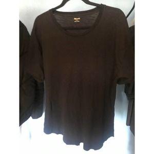 Madewell Black Shirt L Womens